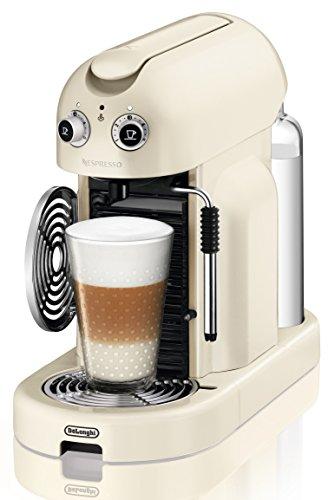 Nespresso Maestria Creamy white (beige) EN450CW DeLonghi - Cafetera monodosis...