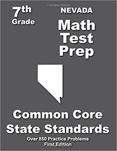 Nevada 7th Grade Math Test Prep: Common Core Learning Standards by Treasures Teachers' (2015-03-08)
