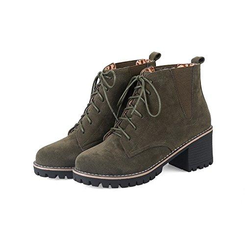 Boots Suede ABL09968 Platform Slip Claret Resistant BalaMasa Womens q1X6I6