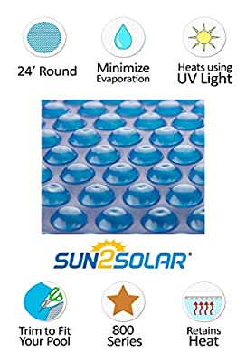 Round 8 Mil Solar Covers from Sun2Solar