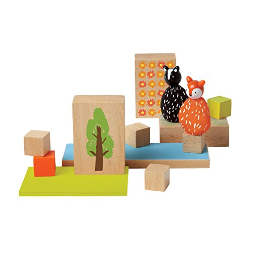 Manhattan Toy 213810 MiO Woodland + Fox + Skunk Modular