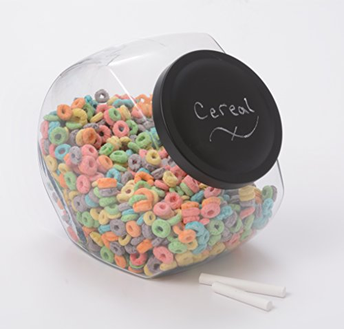 Anchor Hocking 1 Gallon Candy Jar with Black Chalkboard (Anchor Hocking Candy)
