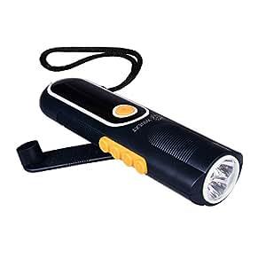 Amazon.com : Led Hand Crank Dynamo Energy Rechargeable ...