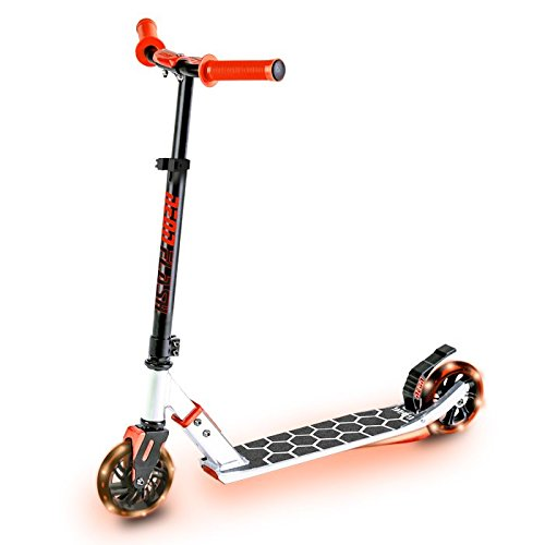 Neon Flash Scooter, Red, One Size