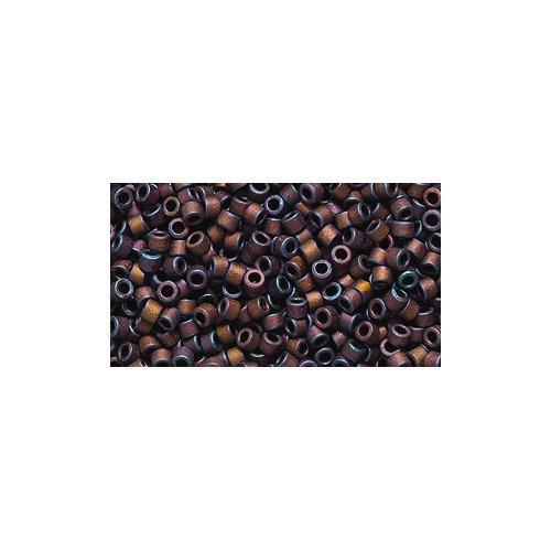 Price comparison product image Miyuki Delica Seed Bead 11 / 0 DB312,  Metallic Dark Copper Matte,  9-Gram / Pack