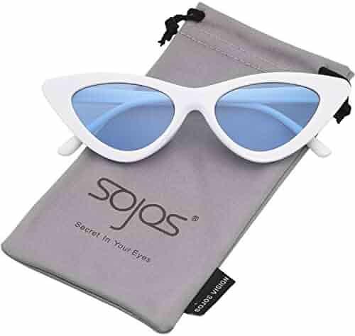 52d9e43c023 SOJOS Clout Goggles Cat Eye Sunglasses Vintage Mod Style Retro Kurt Cobain  Sunglasses SJ2044