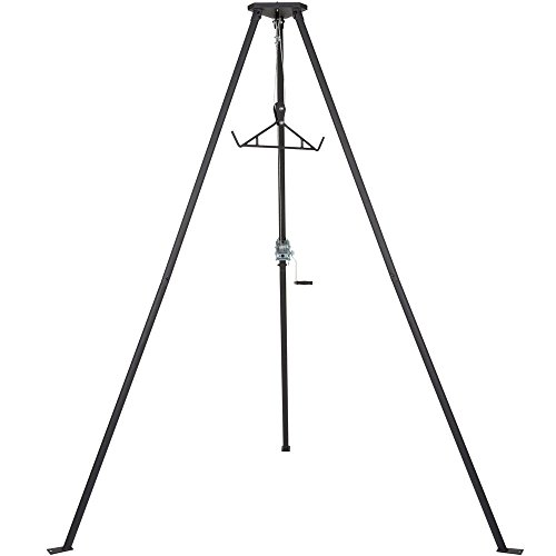 - Rage Powersports Kill Shot DRC-DTP Tripod Game Hoist with Gambrel - 500 lb. Capacity