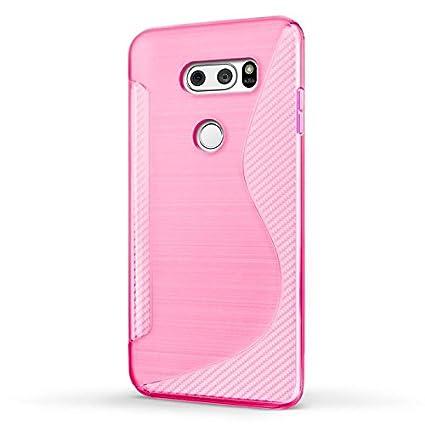 Funda LG V30, SLEO Slim Fit TPU Carcasa de Parachoques Case ...