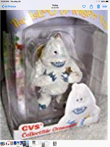 - 1999 CVS Limited Edition Bumble Abominable Snowman Christmas Ornament from Rudolph and the Island of Misfit Toys by Enesco