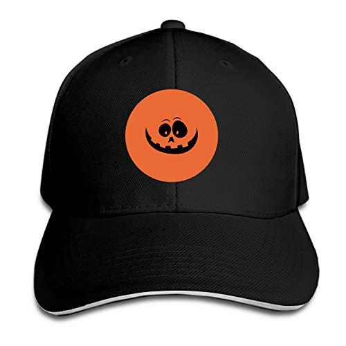Halloween Pumpkin Bottle Cap Baseball Cap Trucker Hats Adjustable Dad Hat Peaked Flat for Men Women -