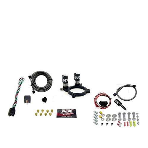Mustang Nitrous Systems (Nitrous Express 20952-00 Ford V6 Nitrous Plate System Incl. All System Components/Hardware w/o Bottle  Ford V6 Nitrous Plate System)