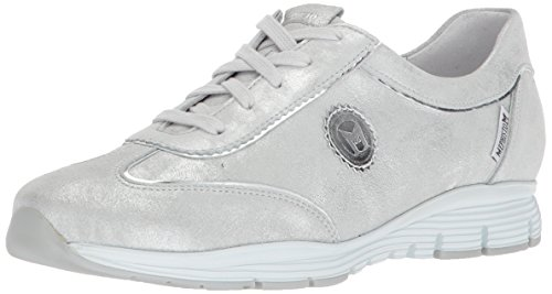 Mephisto Women's Yael Sneaker, Silver, 8.5 M US (Shoes Mephisto Women)