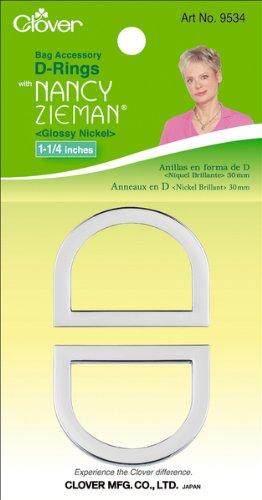 Nancy Zieman's Bag Hardware D-Rings 1-1/4