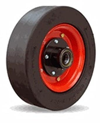hamilton    heavy duty solid pneumatic wheel   hub amazoncom industrial scientific