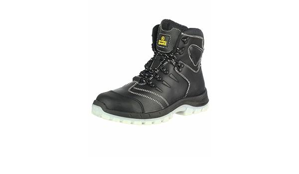 Amblers FS662 S2 ESD Negro Metal Libre De Seguridad Zapato Tamaño 3//36-12//47
