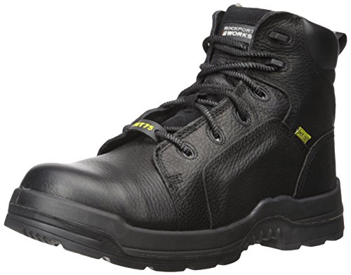 Rockport Work Men's More Energy RK6465 Work Shoe, Black, 11.5 W US by Rockport