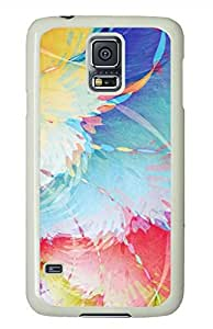 Color Texture White Hard Case Cover Skin For Samsung Galaxy S5 I9600