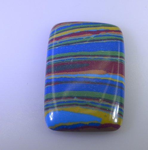 arc calsilica lâche émeraude pierre cabochon 1 pc 17x27 mm strencal-420003