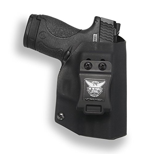 We The People Holsters - Smith & Wesson M&P Shield 9MM/.40 Compatible IWB Kydex Holster for Concealed Carry