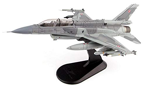 Lockheed Master - Lockheed Martin F-16 (F-16D) Fighting Falcon - 1/72 Scale Diecast Metal Model