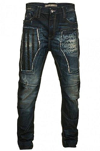 Cipo & Baxx Herren Denim Hose Jeans
