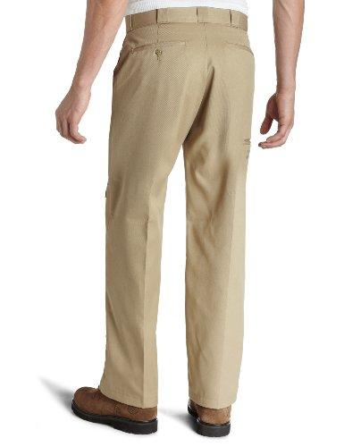 Work Dickies Men's Beige Trousers Double Straight Knee xxrtwT