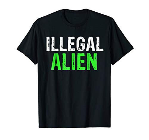Illegal Alien Political Halloween Costume Idea T-Shirt ()