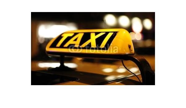 Desconocido druck-shop24 Taxi #6603638 - Imagen sobre Lienzo ...