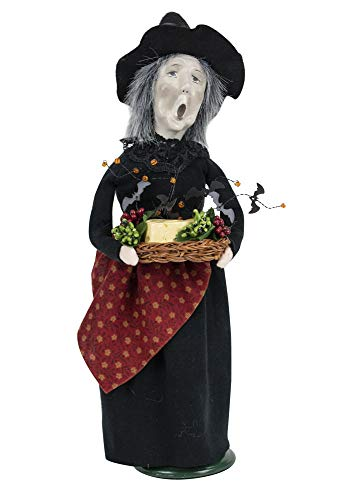 Byers' Choice Witch w/Cheese Caroler Figurine from The Halloween Collection #7191 (New 2019)