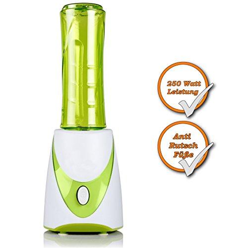 De Smoothie maker con 500 ml botella 250 W con mecanismo de cierre ...