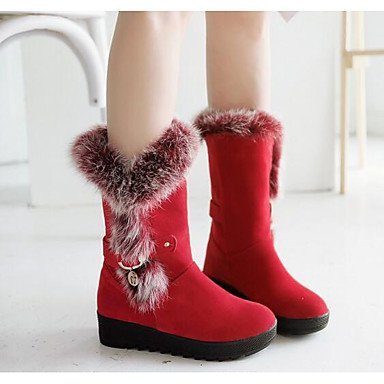 Comfort Winter amp;xuezi Black Gll 4in Combat 1in Fall Women's Coffee Nubuck Casual Boots Boots leather 3 1 coffee Ruby ztwqFrOdw