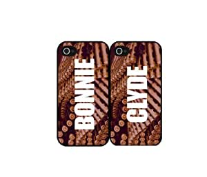 Bonnie and Clyde - Set of 2 TPU Rubber Silicone Phone Case Back Cover (iPhone 5c)