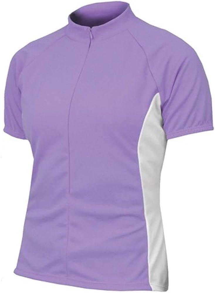 BDI Cycling Apparel Elitta Womens E-Curve Rose Jersey