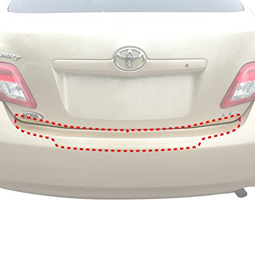 Self Applique - Red Hound Auto Rear Bumper Paint Protection Film 2007-2011 Compatible with Toyota Camry 1pc PPF Custom Perfect Fit Guard Clear Applique Cover Self Healing Invisible Cover Wet Install