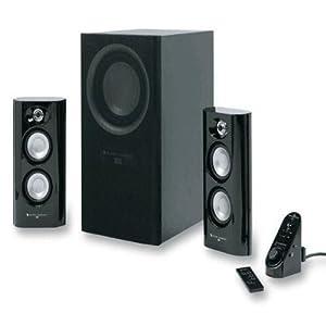 altec lansing mx5021 powered audio 2 1 stereo speaker. Black Bedroom Furniture Sets. Home Design Ideas
