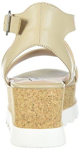 1e099a62a31 Steve Madden Women s Kirsten Natural Leather Sandal 11 US