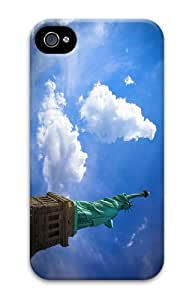 cover underwater Miss Liberty PC Case for iphone 4/4S