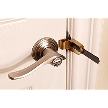 Calslock Portable Door \u0026 Travel Lock  sc 1 st  Amazon.com & Prime-Line U 9888 Flip Action Steel Door Lock White Finish - Door ...