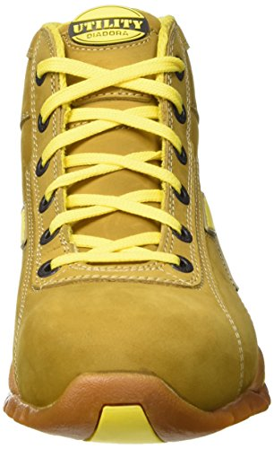 Diadora Glove Ii High S3 Hro, Zapatos de Trabajo Unisex Adulto Amarillo (Cammello)