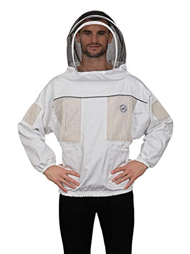 Humble Bee 531 Ventilated Beekeeping Smock with Fencing Veil