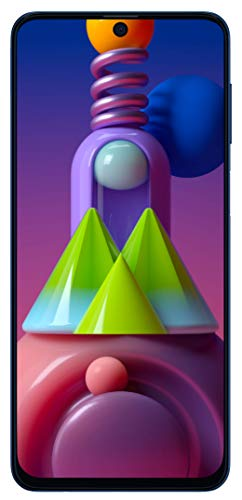 Samsung Galaxy M51 (Electric Blue, 8GB RAM, 128GB Storage)