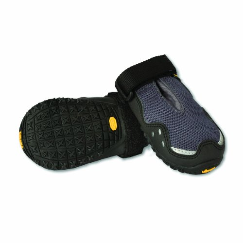 Ruffwear Grip Trex Boots for Dogs 2.25-Inch, Granite - Grip T-rex Booties
