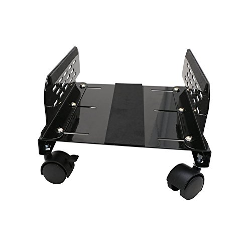 Moontree Steel Computer Stand For Atx Case With Adjustable