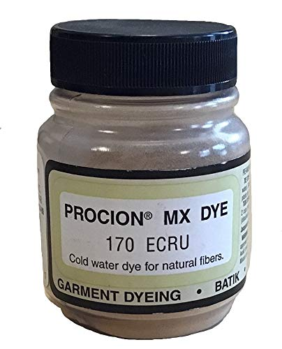 - Fiber Reactive Fabric Dye for Cotton - 2/3 Ounce - Ecru