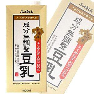 Fukuren Kyushu Fukuyutaka soybean component unadjusted soymilk paper this 1000mlX6 [X4 Ke - S: total 24] by Fukuren