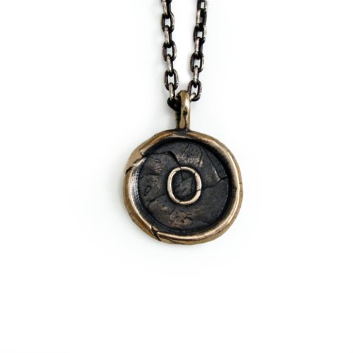 Pennyroyal-Studio-Bronze-Initial-Pendant-Necklace-Letter-O