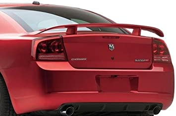 JSP Painted Rear Wing Spoiler Compatible with 2006-2010 Dodge Charger W1 SW1 Stone White Factory Style 388023