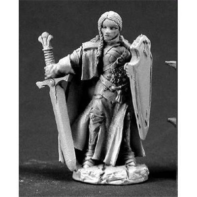 1 X Isabeau Laroche, Female Paladin by Reaper (Dark Paladin Miniatures)