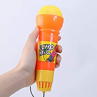 Isabelvictoria Echo Microphone Mic Voice Changer Toy Gift Birthday Present Kids Party Song Learning Toys for Children