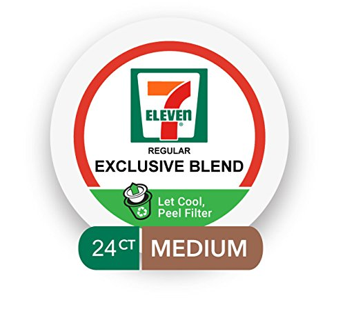 Cheap 7-Eleven Coffee Single Serve Cups 24 Count (Exclusive Blend, 2 boxes of 12 Pods)